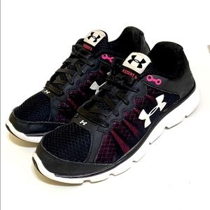 Under Armour Micro G Assert 6 Running Sneakers 9.5
